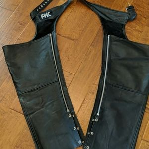 Leather chaps 3x